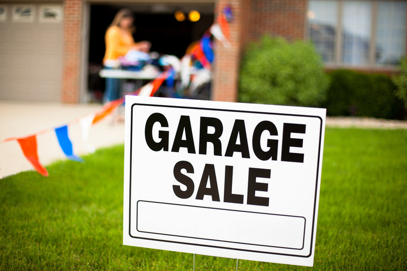 the essential tips for organizing a pre moving garage sale