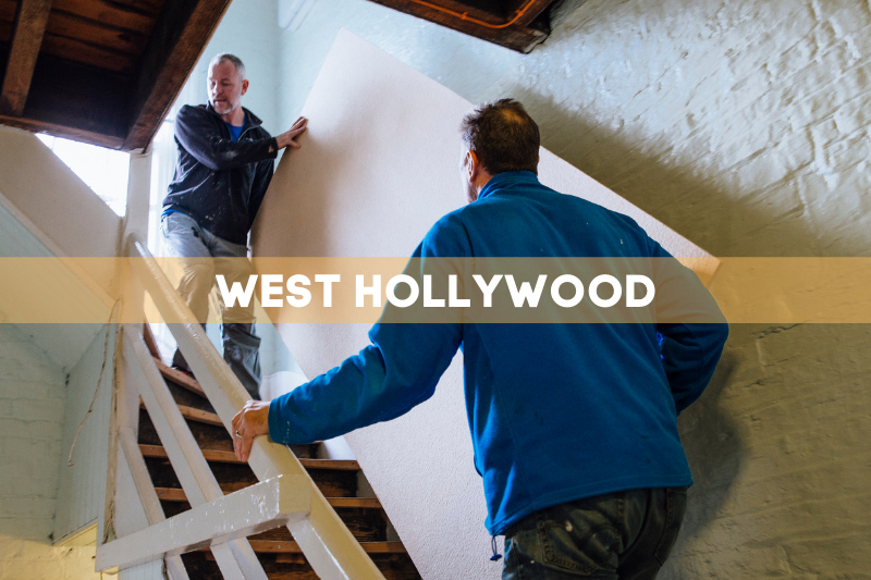 moving company in West Hollywood
