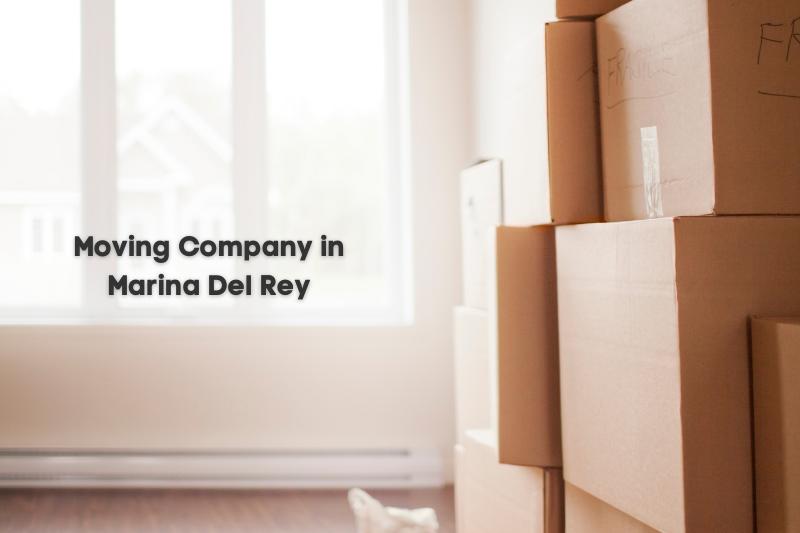 moving company in Marina Del Rey